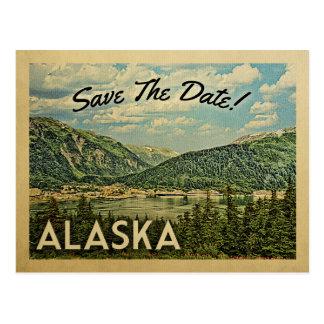 Alaska Save The Date Vintage Postcards