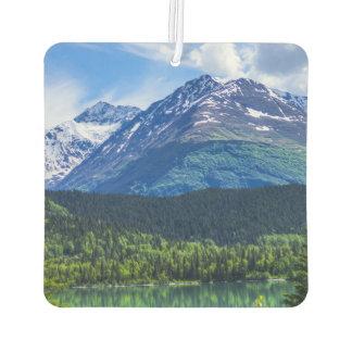 Alaska Scenic Byway Mountain Car Air Freshener