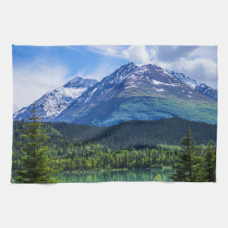 Alaska Scenic Byway Mountain Hand Towel