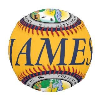 Alaska Seal Baseball with Customizable Name
