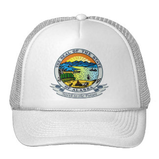 Alaska Seal Trucker Hat