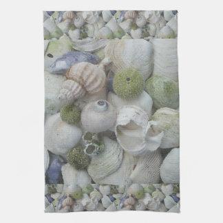 Alaska Seashells Collection Hand Towels