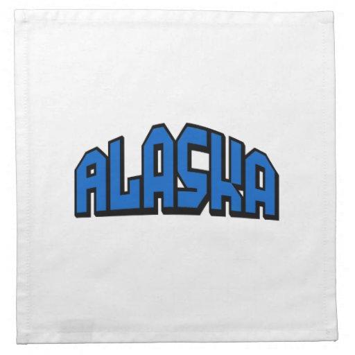 Alaska Servilletas Imprimidas