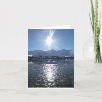 """Alaska Small, 4"""" x 5.6"""" Folded Greeting Card"""