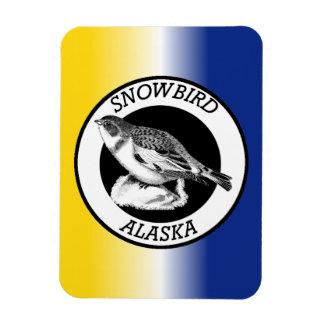 Alaska Snowbird Magnet