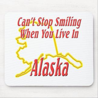 Alaska - sonriendo tapetes de raton