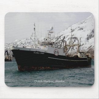 Alaska Spirit, F. C. A. Trawler in Dutch Harbor Mouse Pad