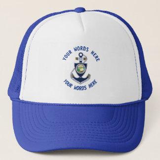 Alaska State Anchor Trucker Hat