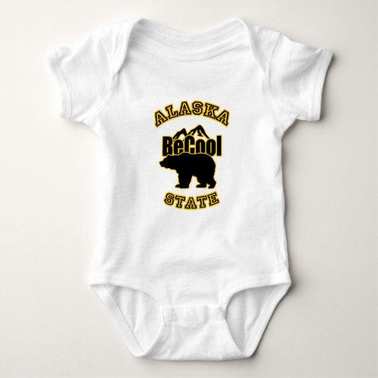 Alaska State Baby Bodysuit