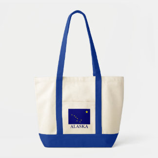 Alaska State Flag Canvas Tote Bag