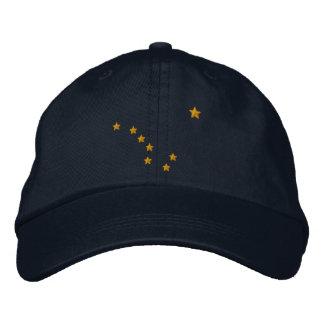 Alaska State Flag Design Embroidery Cap