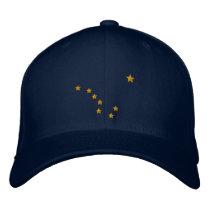 Alaska State Flag Design Embroidery Embroidered Baseball Hat