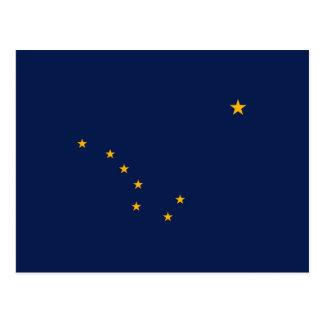 Alaska State Flag Design Postcard