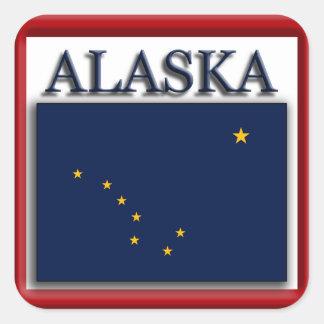 Alaska State Flag Design Sticker