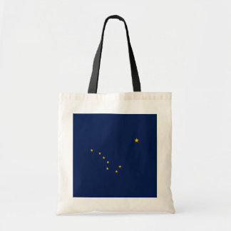 Alaska State Flag Design Tote Bag