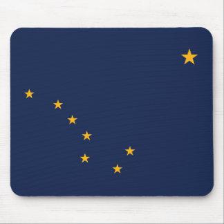 Alaska State Flag Mouse Pad