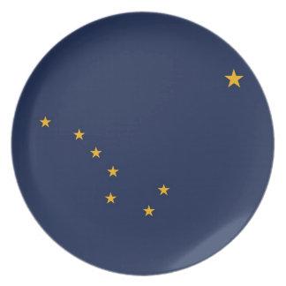 Alaska State Flag Plate