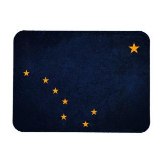 Alaska State Flag Rectangle Magnet