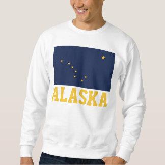 Alaska State Flag Pullover Sweatshirt