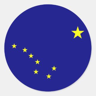 Alaska State Flag Sticker