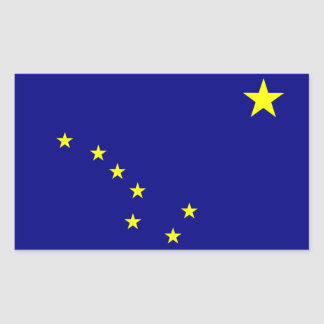 """Alaska State Flag"" Stickers"