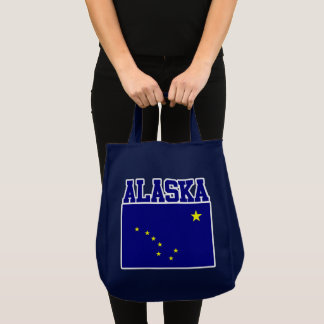 Alaska State Flag Tote Bag