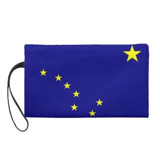 Alaska State Flag Wristlet Purse