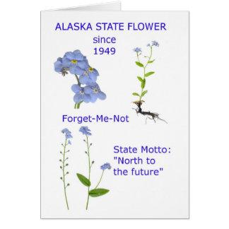 Alaska State Flower Card