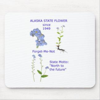Alaska State Flower Mouse Pad