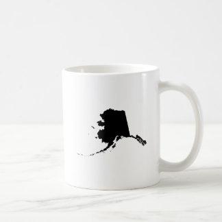 Alaska State Outline Coffee Mug