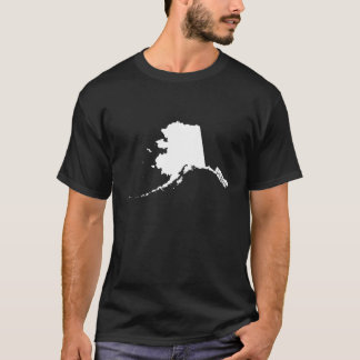 Alaska State Outline T-Shirt