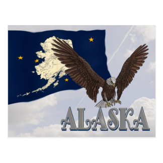 Alaska State Post Card