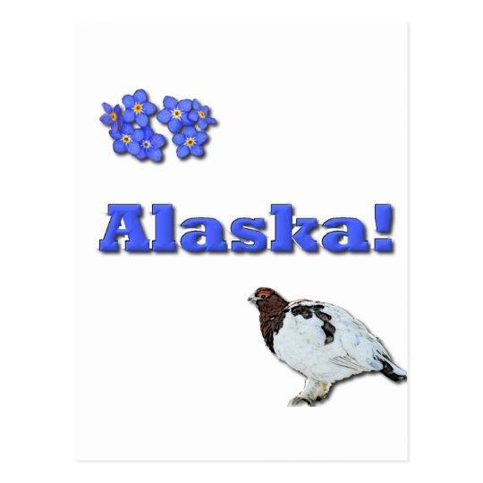 Alaska State Postcard