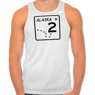 Alaska State Route 2 Tank Top