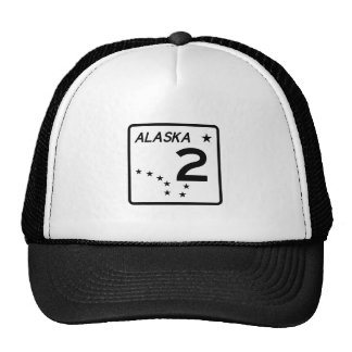 Alaska State Route 2 Trucker Hat