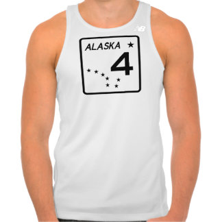Alaska State Route 4 Tank Top