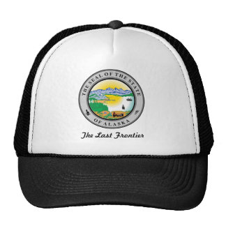 Alaska State Seal and Motto Trucker Hat
