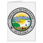 Alaska State Seal Card