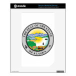 Alaska State Seal Decal For The NOOK Color