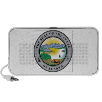 Alaska State Seal Notebook Speaker