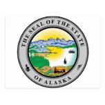 Alaska State Seal Post Cards