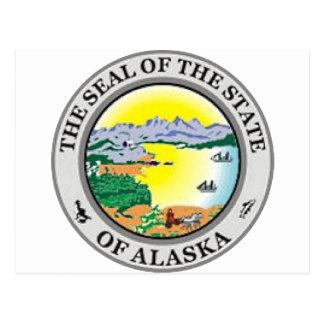 Alaska State Seal Postcard