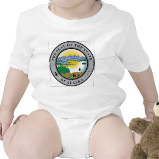 Alaska State Seal Baby Creeper