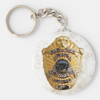 Alaska State Troopers Keychain