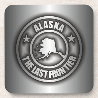 """Alaska Steel"" Cork Coasters"