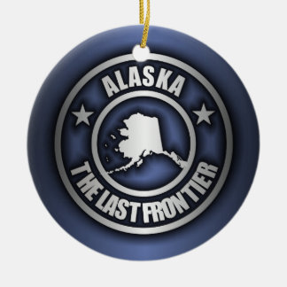 """Alaska Steel"" Decorative Ornaments (Blue)"