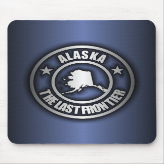 """Alaska Steel"" Mousepad (Blue)"