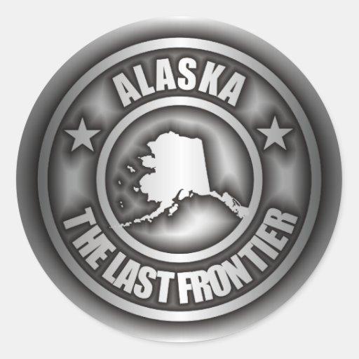 """""""Alaska Steel"""" Stickers"""