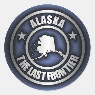 """Alaska Steel"" Stickers (Blue)"