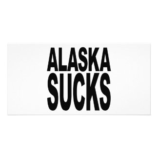 Alaska Sucks Card
